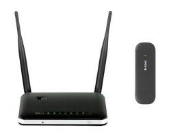 D-Link DWR-116 3G/4G router + DWM-222/DH 4G/LTE USB adapter